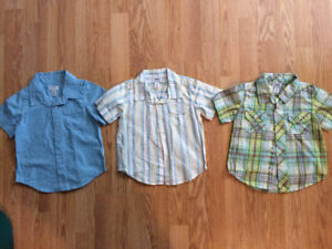 18-24 month short sleeve shirts