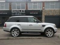 2006 Land Rover Range Rover Sport 2.7TD V6 Auto SE 5DR 55REG Diesel Silver