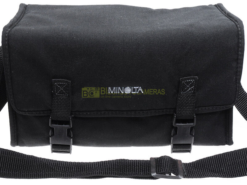 Borsa per attrezzatura Minolta, cm. 13x16x29 (interno).