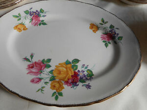 Ridgway Chateau Rose, made in England China $60.00