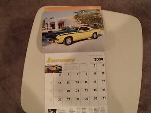 New 2004 MUSCLE THUNDER CAR CALENDAR. Sarnia Sarnia Area image 10
