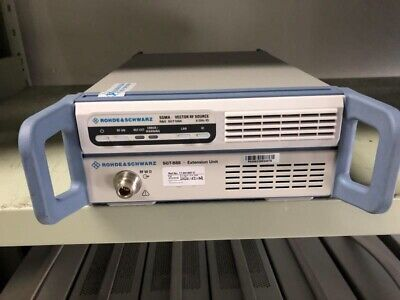Rohde Schwarz Sgt100a Sgma Rf Vector Source 5g Nr Opts Leasing