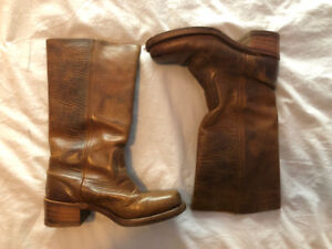 Frye Leather Campus Boot Size 8M
