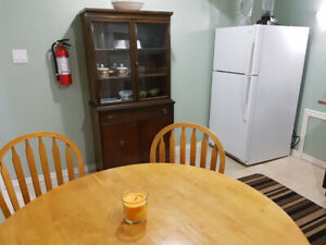 Whitby furnished basement room for rent $600