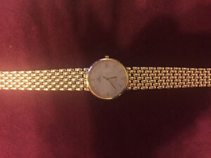 Men Omega DeVille 18k Yellow Gold Watch, used