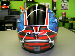 LS2 - Full Face Helmets - Patriot - NEW - All Sizes at RE-GEAR Kingston Kingston Area image 3