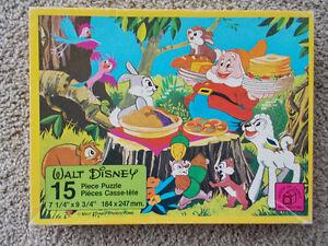 Vintage Walt Disney Puzzle-1979 London Ontario image 1