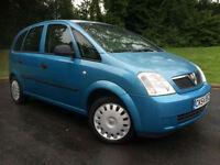 Vauxhall/Opel Meriva 1.6i ( a/c ) 2004MY Life
