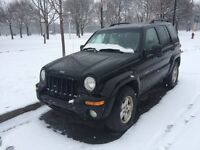 Jeep liberty 4x4 limited edition 2003