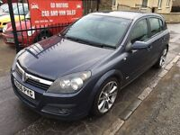2006 (56) VAUXHALL ASTRA 1.8 SRI, 1 YEAR MOT, NOT FOCUS MEGANE CLIO 307 GOLF A3