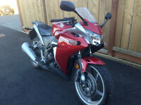 $3,500 · MINT 2011 HONDA CBR 250 RA WITH ABS- LOW KM