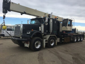 2005 Freightliner  Sleeper with National 30 Ton Boom Truck