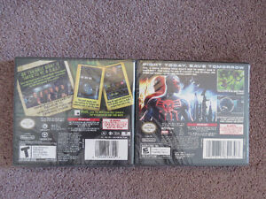 2 Sealed DS Games: CSI: Unsolved ; Spiderman - Edge of Time St. John's Newfoundland image 2