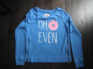 Blue Hollister Sweatshirt Size Medium
