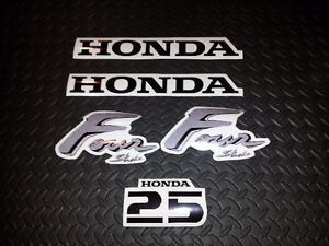Decal set for a HONDA 25HP outboard