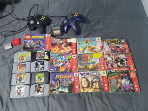 N64 Stuff- Accessories, Boxed Games and More