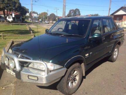 2005 Turbo Diesel 4x4 Ssangyong Musso Ute Lidcombe Auburn Area Preview