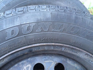 Tires on rims like new West Island Greater Montréal image 3