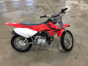 '07 Honda CRF70, great shape, recent tune up and rear tire tube.