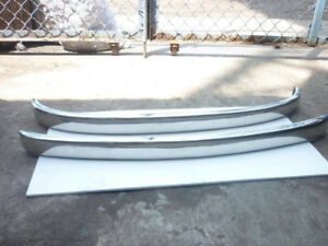 Fiat 500 Bumper in Stainless Steel