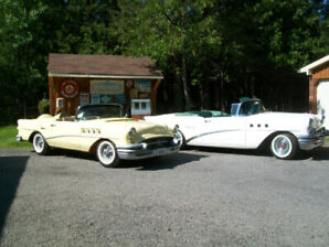 1955 Buick Special convertible and Wildcat creation.