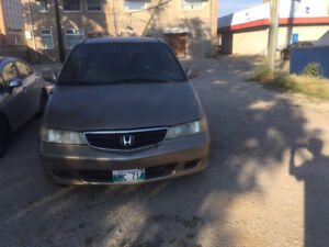 2002 Honda Odyssey safety and clean title