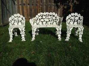 Wrought Iron Lawn Furniture