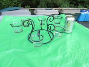 CANDLE HOLDERS - METAL (lot # 2) - REDUCED!!!!