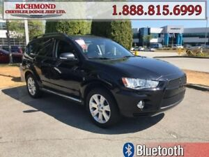 2012 Mitsubishi Outlander XLS  - Sunroof -  Leather Seats