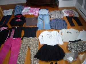 Lot de vêtements grandeur 10 ans Fille