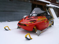 2003 ski doo mxz 700 adrenaline zx chassis part out