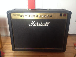 Marshall jcm 900 (model 4502) 50w combo avec Greenback speakers!