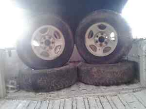 Winter rims Kitchener / Waterloo Kitchener Area image 2