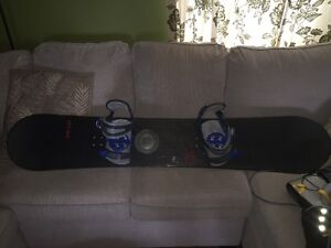 Heelside CF165 (Carbon Fiber) with boots/bindings and bag.