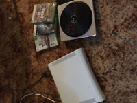 Xbox 360 plus dj hero 1&2 includes turntable 100 obo