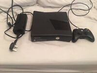 Xbox 360 with controller