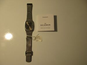 PRE-OWNED SKAGEN WATCH SOLAR POWER EX. SHAPE NOW $25 NO TAXES
