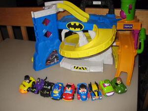 Garage de mini-voitures
