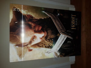 The Hobbit Movie, Nori Lenticular 3D Poster. One of a kind.