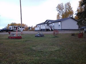 Must see 3 bedroom modular home on 60 Acres  Near Edson A.B