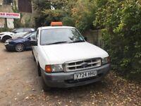 1999 ford ranger 2wd single cab pick up (long mot )