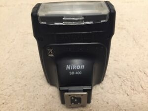 Like New Nikon SB-400 Speedlight Flash