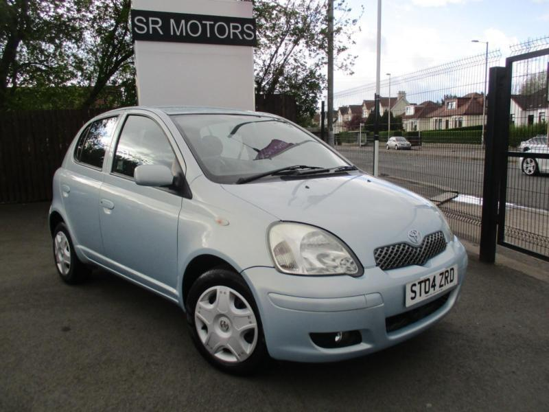 2004 toyota yaris 1 0 vvt i blue full history warranty in crookston glasgow gumtree. Black Bedroom Furniture Sets. Home Design Ideas