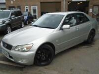 2002 02 LEXUS IS 2.0 200 SE 4D AUTO 153 BHP