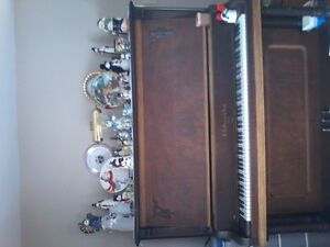 Upright piano, antique