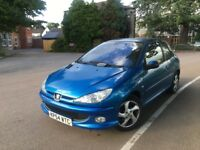 PEUGEOT 206 XSi --- LOW MILEAGE -- LONG MOT -- IDEAL FIRST TIME CAR -- FREE DELIVERY -- P//X WELCOME