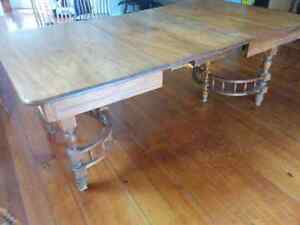Antique table, up to 7 feet long