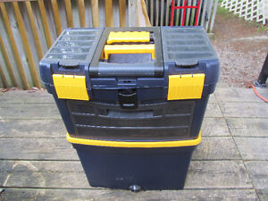 Master Craft Rolling Vertical Tool Box