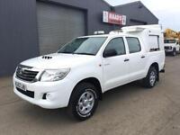 2012 (62) Toyota Hilux 2.5 D4-D HL2 Double Cab 4x4 Diesel Pickup *94k*
