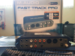M-Audio fast track PRO Interface Audio